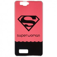 Capa Gel SuperWoman Smart A90
