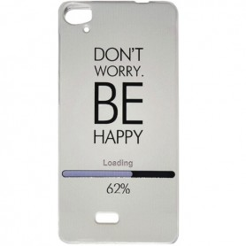 Capa Gel Be Happy Smart A88