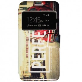Capa Flip Janela Perfect Smart A88