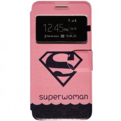 Capa Flip Janela Superwoman Smart A88