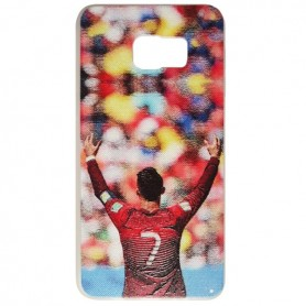 Capa Gel CR7 Galaxy S6 Edge Plus