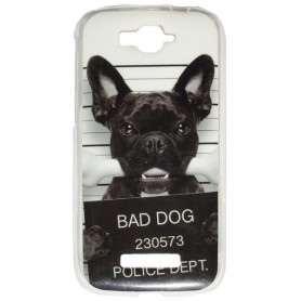 Capa Gel Bad Dog One Touch Pop C7