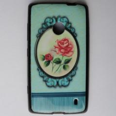 Capa Gel Flores Lumia 520