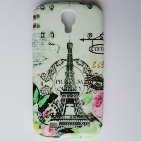 Capa Gel Eiffel Galaxy S4