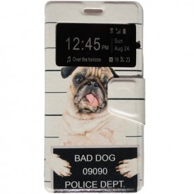 Capa Flip Janela Bad Dog Smart A35