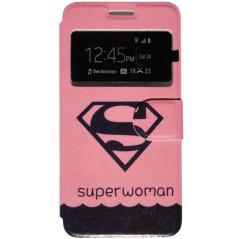 Capa Flip Janela Superwoman Smart A83