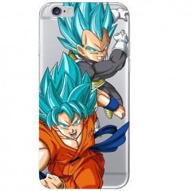 Capa Gel Goku e Vegeta iPhone 7
