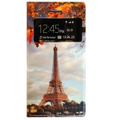 Capa Flip Janela Eiffel iPhone 7