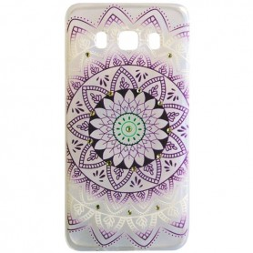 Capa Gel Flores Galaxy J5 (2016)