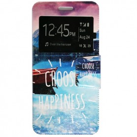 Capa Flip Janela Choose Ascend P8 Lite 2017