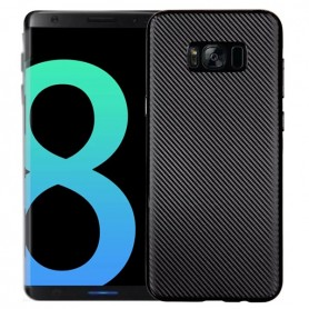Capa Gel Fibra Carbono Galaxy S8