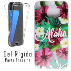 Capa Gel 2 Lados Rígida Aloha Galaxy S7 Edge