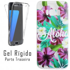 Capa Gel 2 Lados Aloha Galaxy S8
