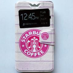Capa Flip Janela Starbucks Universal