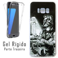 Capa Gel 2 Lados Barbeiros Galaxy S8