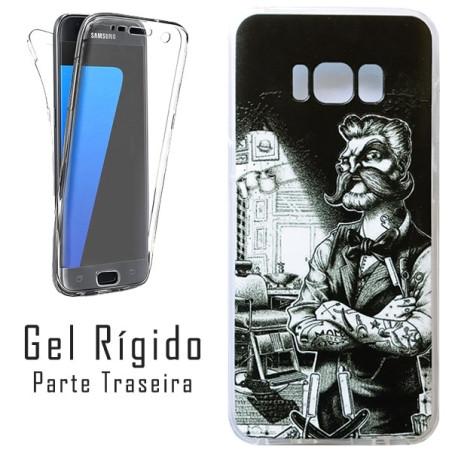 Capa Gel 2 Lados Barbeiro Galaxy S8