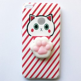 Capa Gel Lazy Cat Ascend P8 Lite 2017