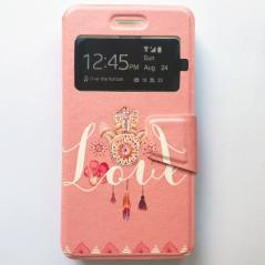 Capa Flip Janela Love One Touch Pixi 4 (5) 3G