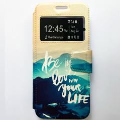 Capa Flip Janela Life Galaxy S8