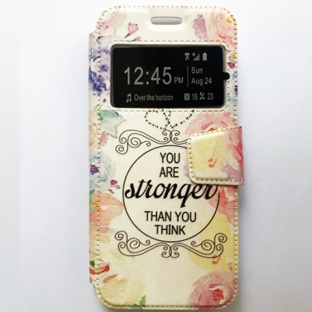 Capa Flip Janela Stronger Galaxy S8