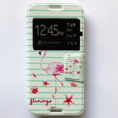 Capa Flip Janela Flamingo Smart N8 / A3
