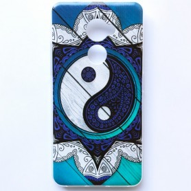 Capa Gel Yin Yang Smart V8