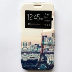 Capa Flip Janela Paris Galaxy A8 2018