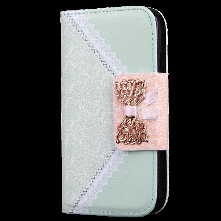 Capa Flip Laço Galaxy Note II