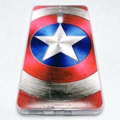 Capa Gel Capitão América Nokia 6