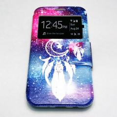Capa Flip Janela Caçador de Sonhos Galaxy J7 2017
