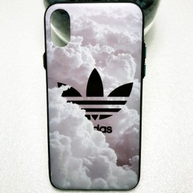 Capa Gel Adidas Nuvens iPhone X