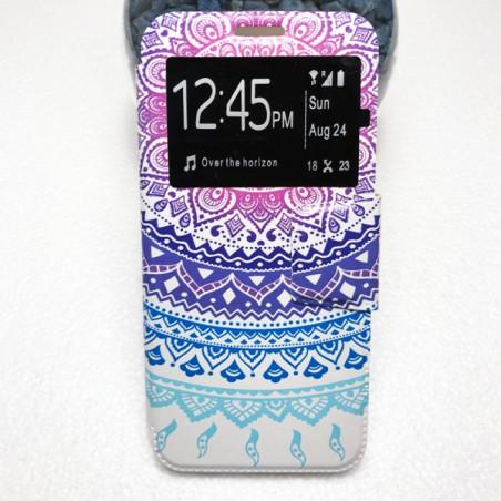 Capa Flip Janela Padrão Huawei P20 Lite