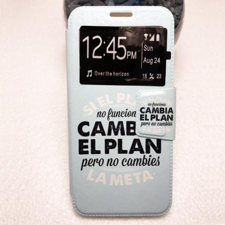 Capa Flip Janela Cambia El Plan Huawei P20 Lite