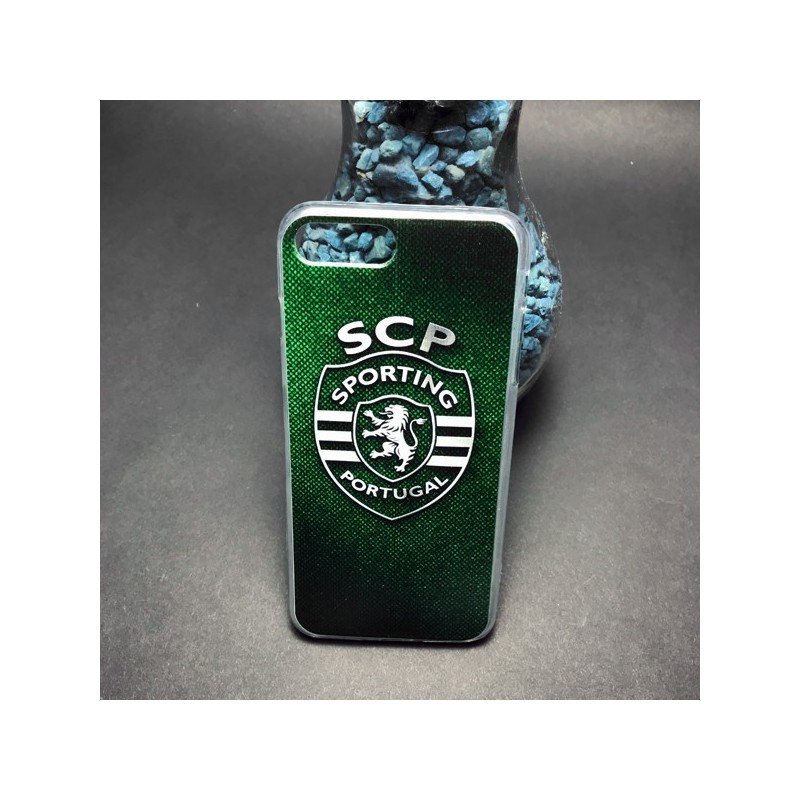 Capa Gel Oficial Sporting iPhone 7 Plus / 8 Plus