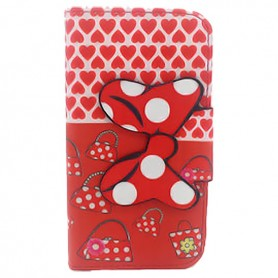 Capa Flip Minnie 3 Galaxy Core Plus