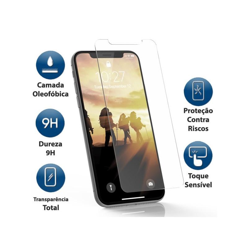 Película Vidro Temperado iPhone XR