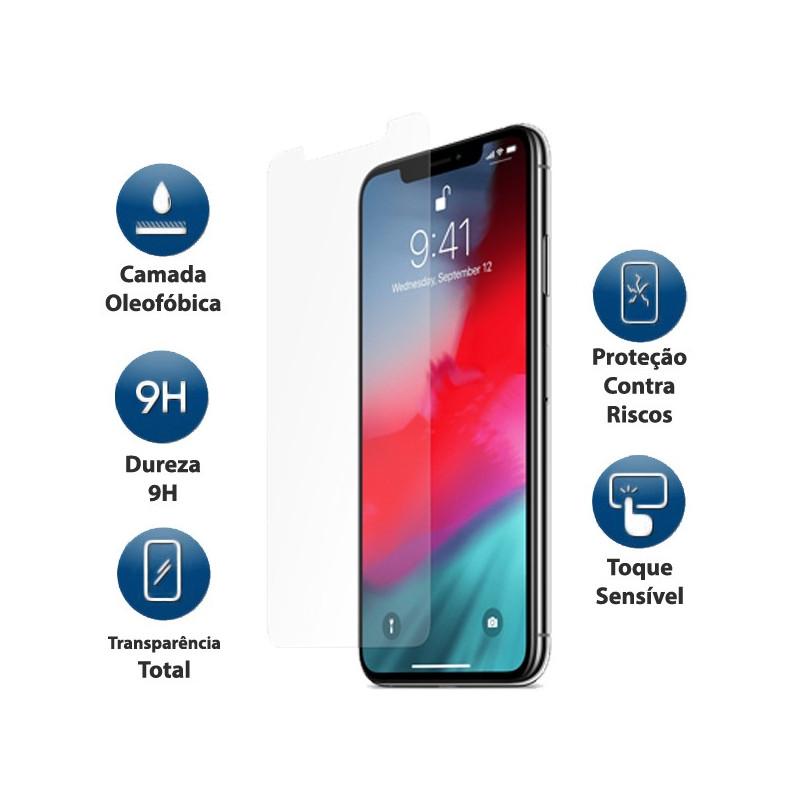 Película Vidro Temperado iPhone XS Max