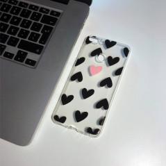 Capa Gel Corações Huawei P Smart