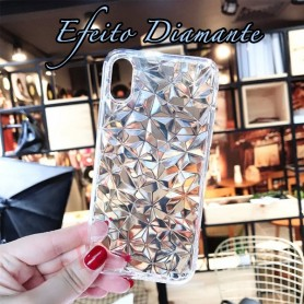 Capa Diamond Effect Galaxy J6 2018