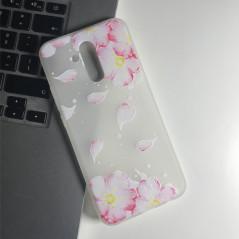 Capa Gel Flores Huawei Mate 20 Lite