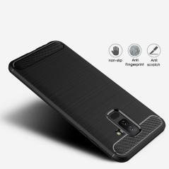 Capa Gel Fibra Carbono Samsung A6 Plus 2018