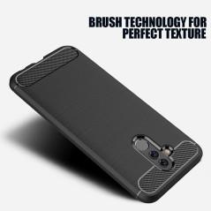 Capa Gel Fibra Carbono Huawei Mate 20 Lite