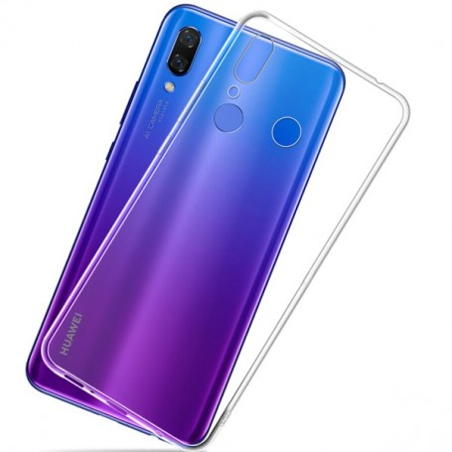 Capa Gel Ultra Fina 0,3mm Huawei Y7 2019