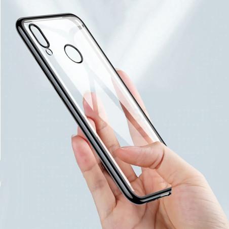 Capa Gel Frame Huawei Y7 2019