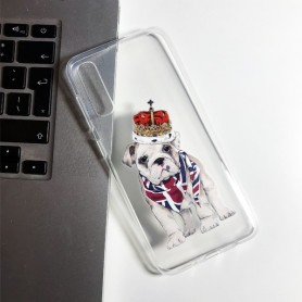 Capa Gel Bulldog King Samsung Galaxy A50