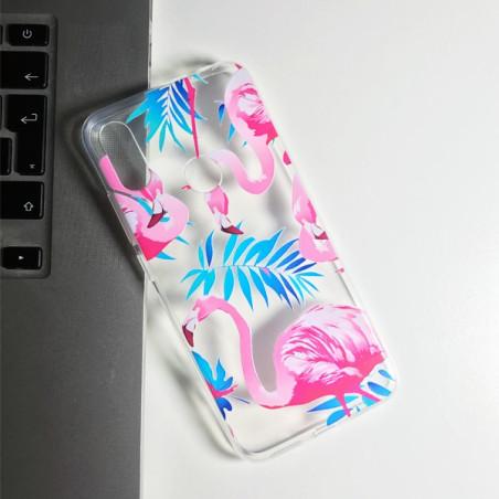 Capa Gel Flamingos Xiaomi Redmi Note 7