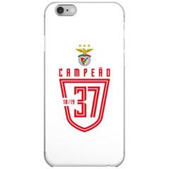 Capa Oficial S. L. Benfica Campeão 37 - Design 3
