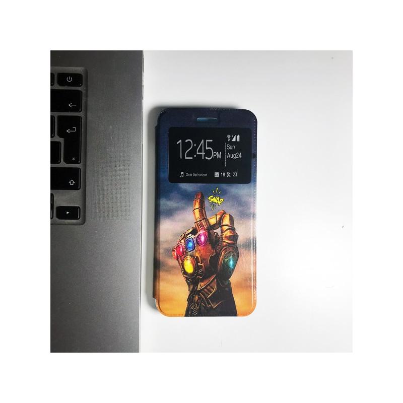 Capa Flip Janela Thanos Samsung Galaxy A20e