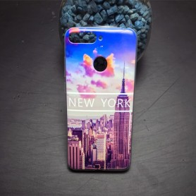 Capa Gel New York Huawei Honor 7A