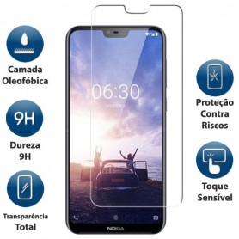 Película Vidro Temperado Nokia 6.1 Plus